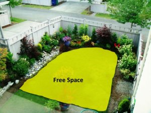 terrace garden ideas with free space